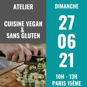 atelier cuisine vegan et sans gluten